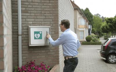 RAV betaalt kosten gebruikte AED
